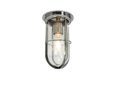 7203 Ship's Companionway With Guard, Chrome Plated, Clear Glass by Davey Lighting Limited