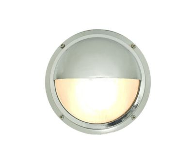 7225 Brass Bulkhead With Eyelid Shield, Chrome Plated by Davey Lighting Limited