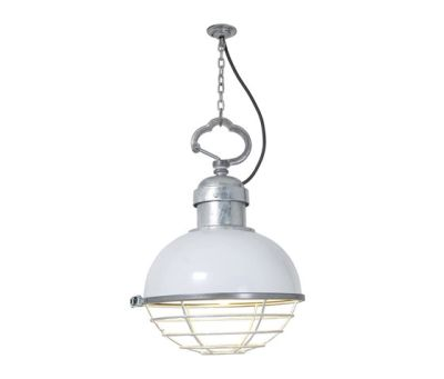 7243 Oceanic Pendant, White by Davey Lighting Limited