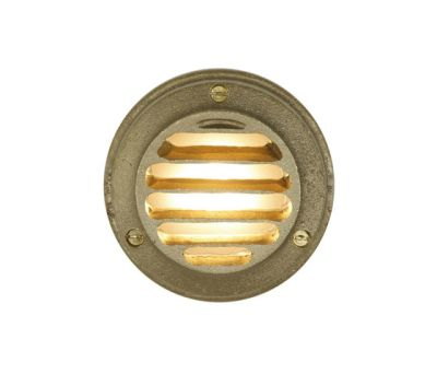 7567 Step or Path Light LED, Brass by Davey Lighting Limited
