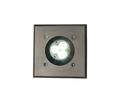 7602 Recessed Uplight, Weathered Brass, GU10 by Davey Lighting Limited
