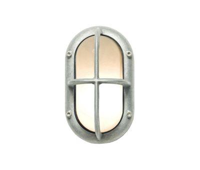 8123 Small Exterior Bulkhead Fitting, Aluminium by Davey Lighting Limited