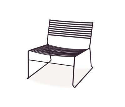 Aero Lounge Chair - Set of 2 Black
