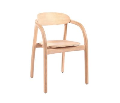Arch with armrest – Oak natural by Wildspirit