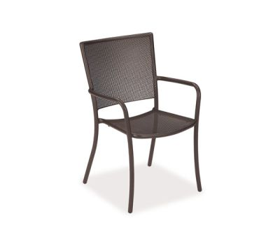 Athena Armchair - Set of 4 Indian Brown