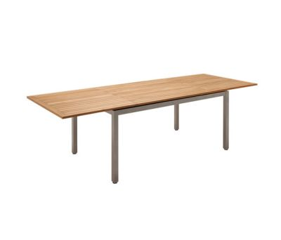 Azore Small Extending Table by Gloster Furniture
