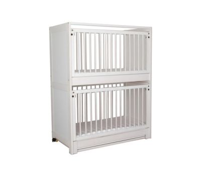 Baby Bunk Bed white DBF-162-10 by De Breuyn