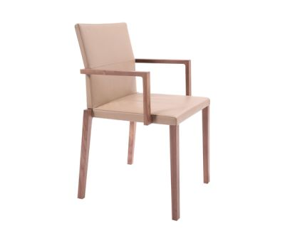 Baltas Chair with armrest by KFF