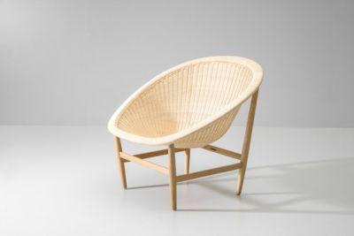 Basket club chair by KETTAL