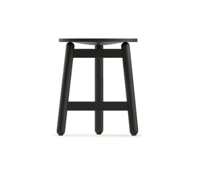 Beech Stool 45 flat by DUM