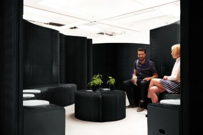 benchwall   black paper by molo