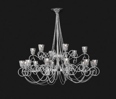 Blanche Hanging Lamp by ITALAMP