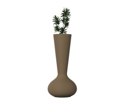 Bloom Planter Champagne