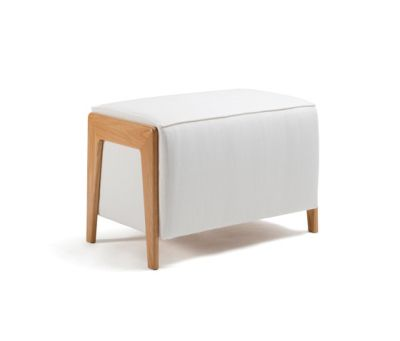 Box Wood Pouf by Inno