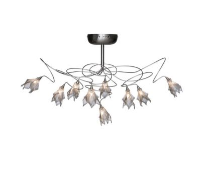 Breeze ceiling lamp 9 by HARCO LOOR