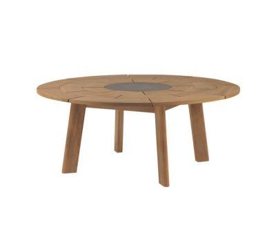 BRICK round table by Roda
