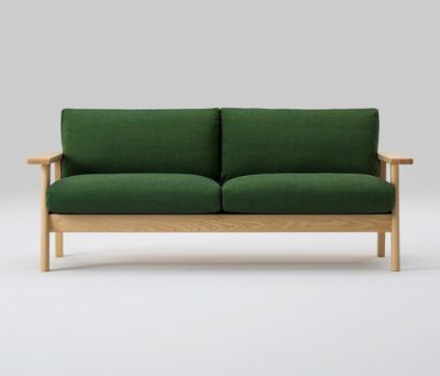 Bruno Wide Two Seater Sofa by MARUNI