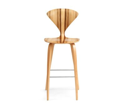 Cherner Wood Base Stool by Cherner