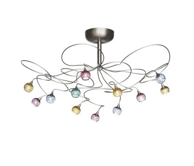Colorball ceiling light 12 by HARCO LOOR