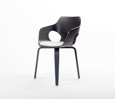 Curved Oak Chair by dutchglobe