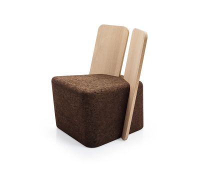 Cut Lounge Chair by Blackcork