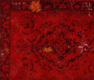 Decolorized Mohair red by GOLRAN 1898