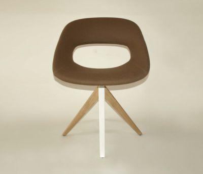 Diagonal Cross Legs Chair by dutchglobe