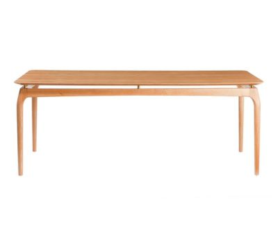 Dining Table 190 cm Oak Top by Red Edition