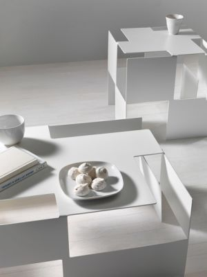 Domino side table by My home collection