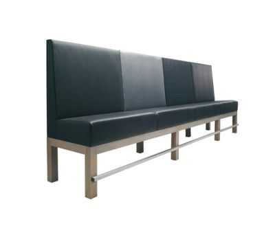 Edge Sofa High-E/62 by Hutten
