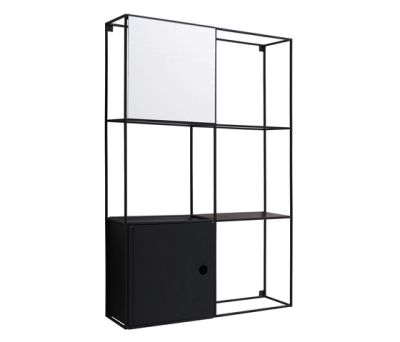 Felt wall-mounted cabinet by EX.T