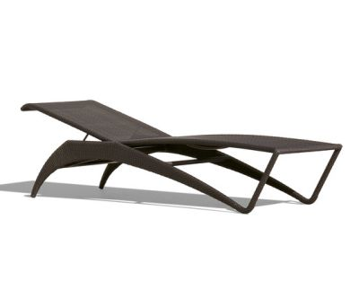 Florida Beach Bob Sun lounger synthetic weave by Rausch Classics