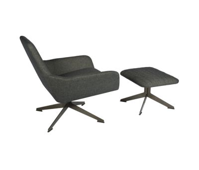 Floyd chair with ottoman by Palau