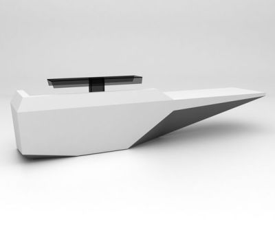 Fold Desk configuration 3 by isomi Ltd