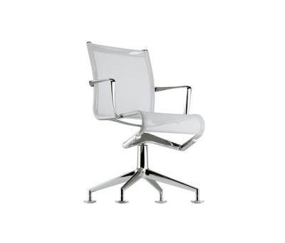 frame meetingframe 437 chrome,white mesh