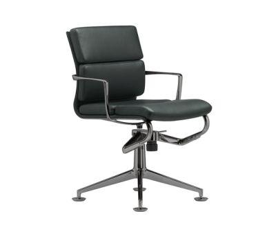 frame meetingframe+ TILT soft 429 chromed,black leather