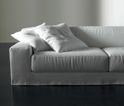 Frieman Ghost Sofa by Meridiani