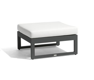 Fuse medium footstool/sidetable by Manutti