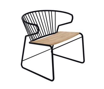 Gabbia Chair Black