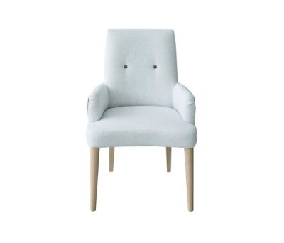 Gibson Alto Chair with arms by Designers Guild