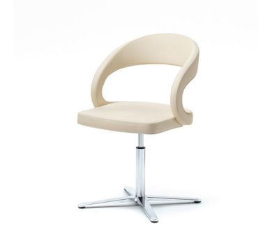 girado chair with center leg by TEAM 7
