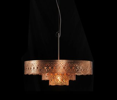 Gladys Chandelier copper by Bsweden