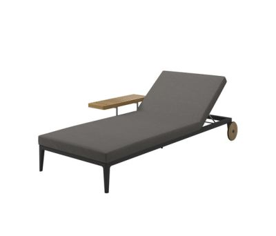 Grid Lounger by Gloster Furniture