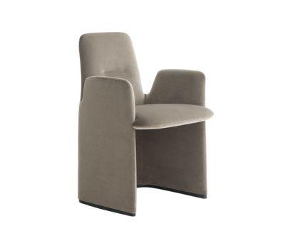 Guest armchair by Poliform