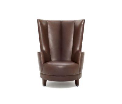 Harlem High-backed armchair by Neue Wiener Werkstätte