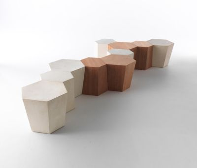Hexagon stool by HORM.IT