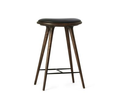 High Stool sirka grey stained oak 69 by Mater