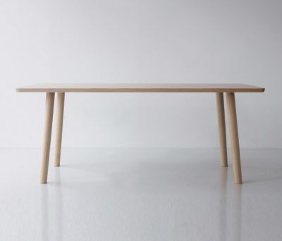 Hiroshima Table 180 High (Rectangular) by MARUNI