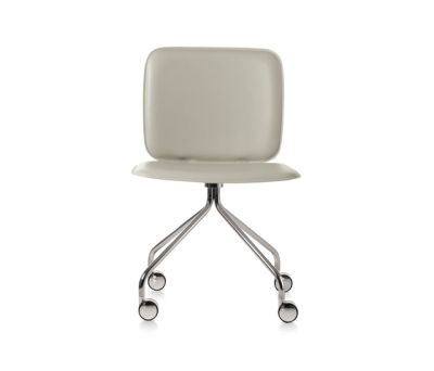 Iki R chair with caster by Frag