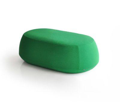 Ile Pouf 2 seater bench by Bensen